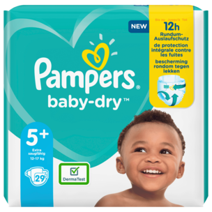 Pampers Baby Dry Gr.5+ 12-17kg 29 Stück