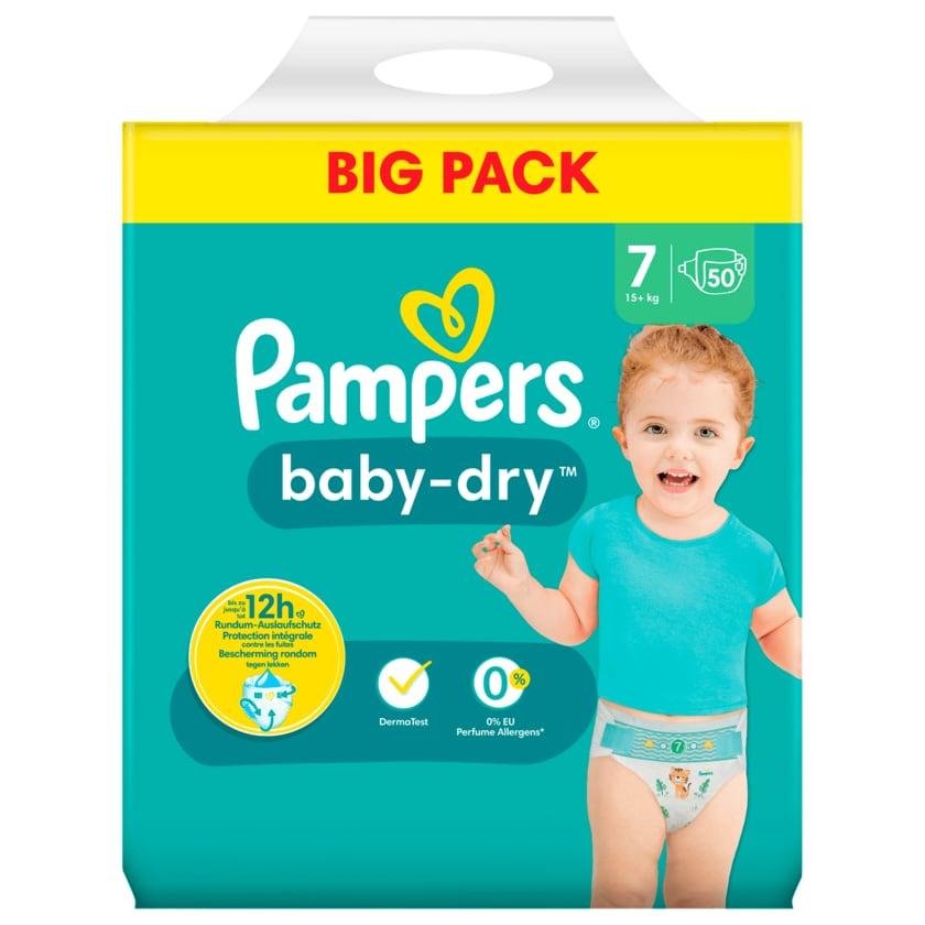 Pampers Windeln Baby Dry Gr.7 15+kg Big Pack 50 Stück
