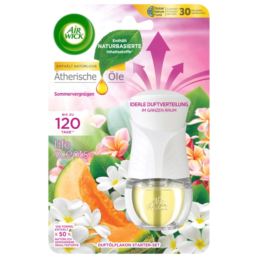 Air Wick Duftölflakon Starter-Set Sommervergnügen 19 ml