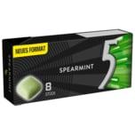Wrigley's 5 Gum Spearmint 8 Stück
