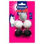 Vitakraft Katzenspielzeug For You Plüschbälle
