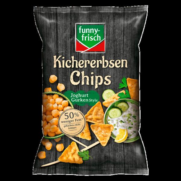 Funny-frisch Kichererbsen Chips Joghurt Gurken Style 80g