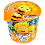 Bauer Die Biene Maja fettarmer Joghurt mild mit Aprikose 125g
