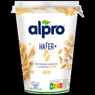 Alpro Soja-Joghurtalternative Hafer+ Natur 400g