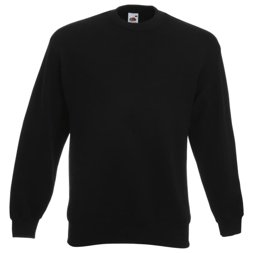 Herren-Sweatshirt 2er Pack blau + schwarz L