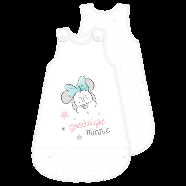 Baby Schlafsack Minnie Weiß 90x45cm