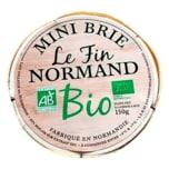 Le Fin Nordmand Bio Mini Brie 150g