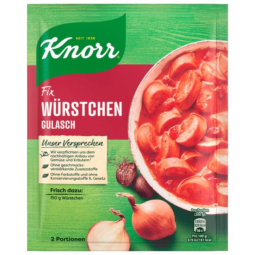 Knorr Fix Würstchen Gulasch 29g