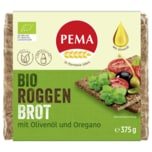 Pema Bio Roggen Brot mit Olivenöl und Oregano 375g