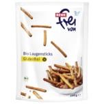 REWE Frei von Bio Laugensticks glutenfrei 100g