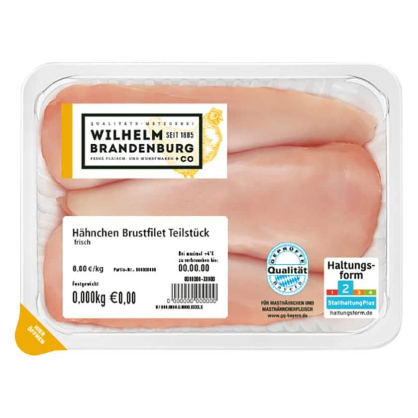 Wilhelm Brandenburg Hähnchen Brustfilet Teilstück GQB 550g