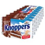 Knoppers Black & White 200g, 8 Stück