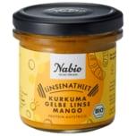 Nabio Proteinaufstrich Powerlinse gelbe Linse Kurkuma 140g