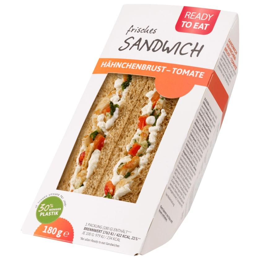 Ready to eat Sandwich Hähnchenbrust-Tomate 180g