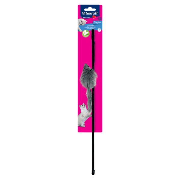 Vitakraft Kitty-Dangler Spielzeug-Angel Kunststoff