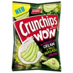 Lorenz Crunchips Wow Cream & Mild Wasabi 110g