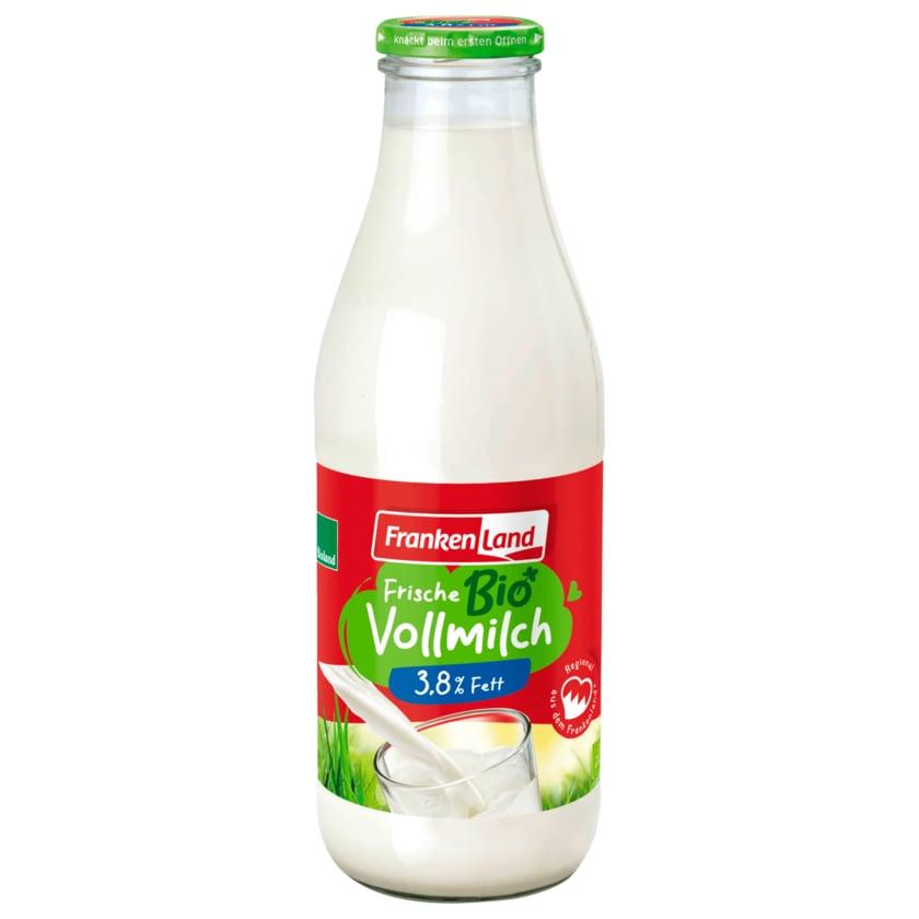 Frankenland Bio Frische Landmilch 1l