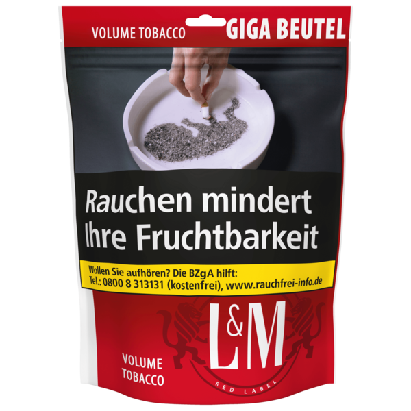 L&M Volume Tobacco Red 150g