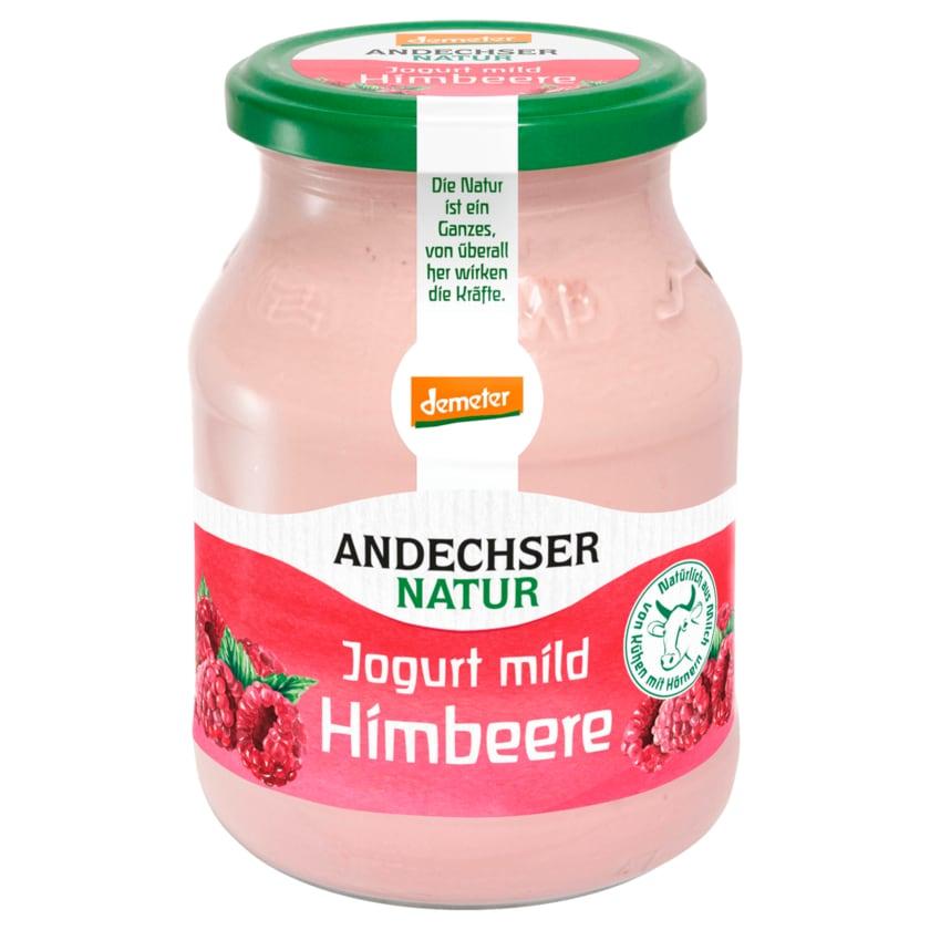 Andechser Natur Bio Jogurt mild Himbeere 500g