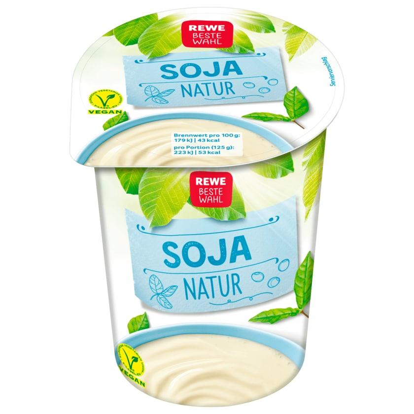 REWE Beste Wahl Soja-Joghurtalternative Natur 500g