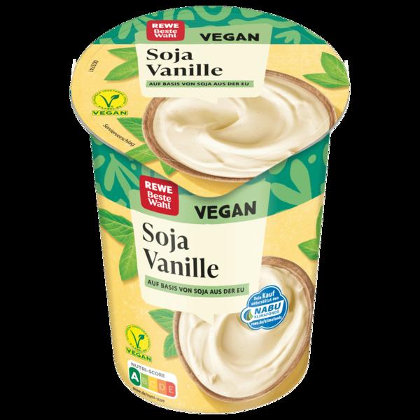 REWE Beste Wahl Soja-Joghurtalternative Vanille 500g
