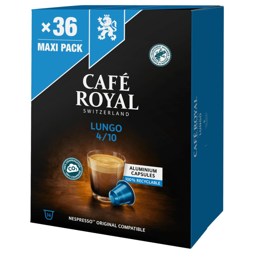 Café Royal Lungo Forte 36 Kapseln