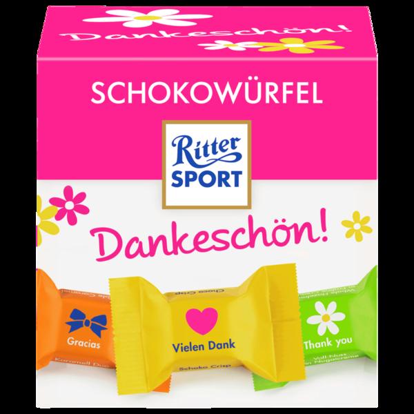Ritter Sport Schokowürfel Dankeschön 176g
