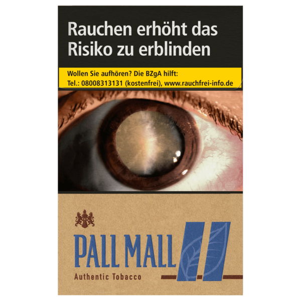 Pall Mall Authentic Tobacco Blue 20 Stück