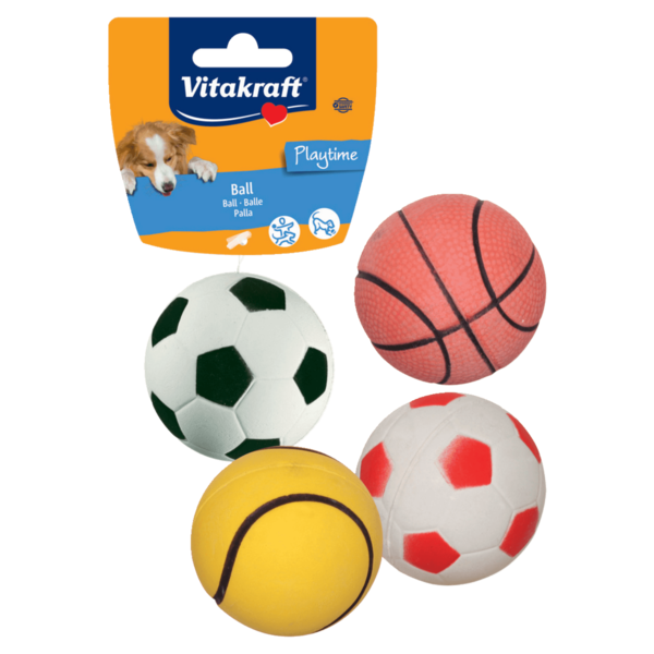 Vitakraft Ball Moosgummi für Hunde