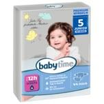 Babytime Windeln Junior Gr.5+ 13-27kg 34 Stück