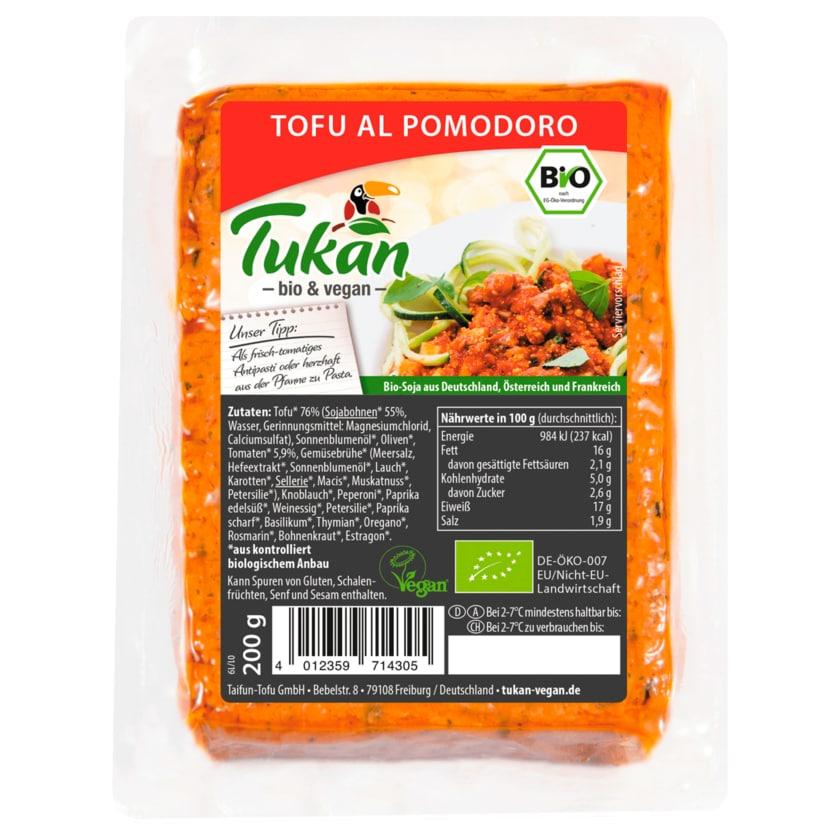 Tukan Bio Tofu al Pomodoro vegan 200g