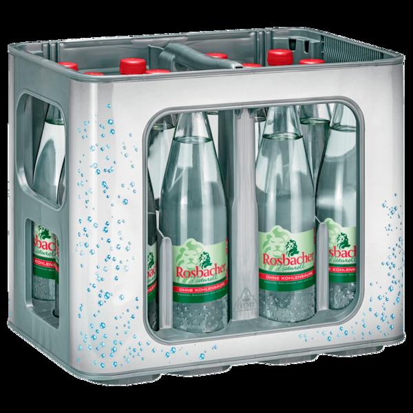 Rosbacher Mineralwasser Still 12x0,75l