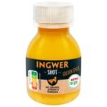 REWE to go Ingwer Shot mit Orange Zitrone & Kurkuma 60ml