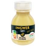 REWE to go Ingwer Shot mit Apfel und Zitrone 60ml
