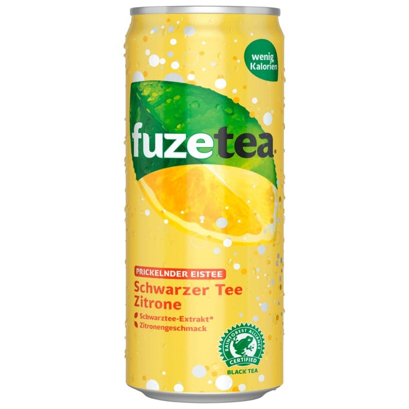 Fuze Tea Lemon Prickelnder Eistee 0,33l