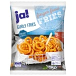 ja! Curly Fries pikant gewürzt 600g