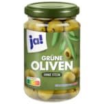Ja! Oliven grün ohne Stein 320g