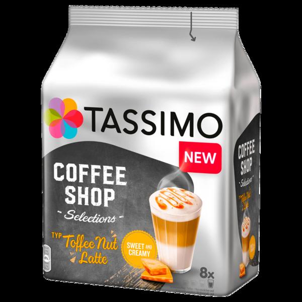Tassimo Coffee Shop Toffee Nut Latte 268g, 8 Kapseln