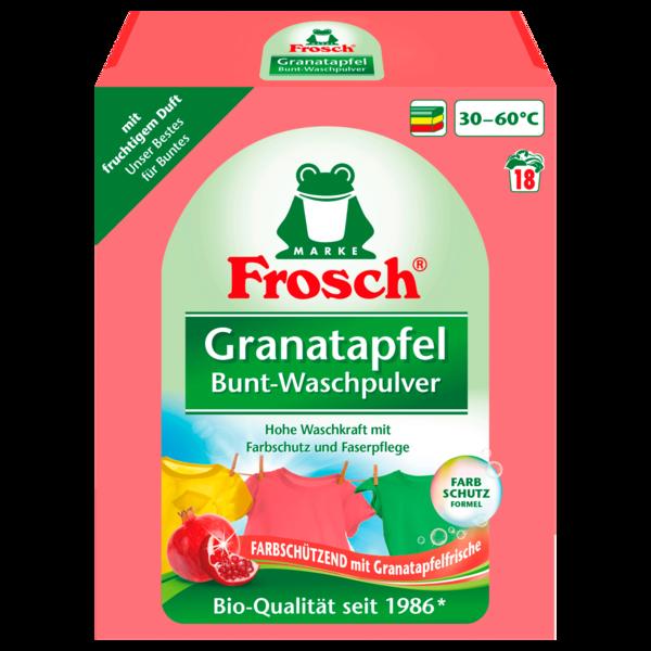 Frosch Granatapfel Bunt-Waschpulver (18WL) 1,35 kg