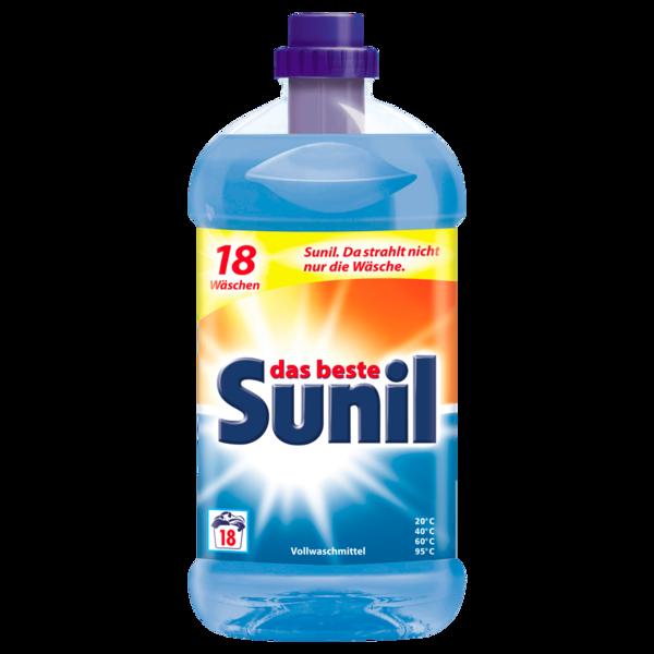 Sunil Vollwaschmittel 1,31l, 18 WL