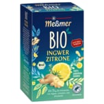 Meßmer Bio Ingwer Zitrone 40g, 20 Beutel
