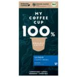 My Coffee Cup Bio Kaffee Lungo Caffè Crema 55g, 10 Kapseln