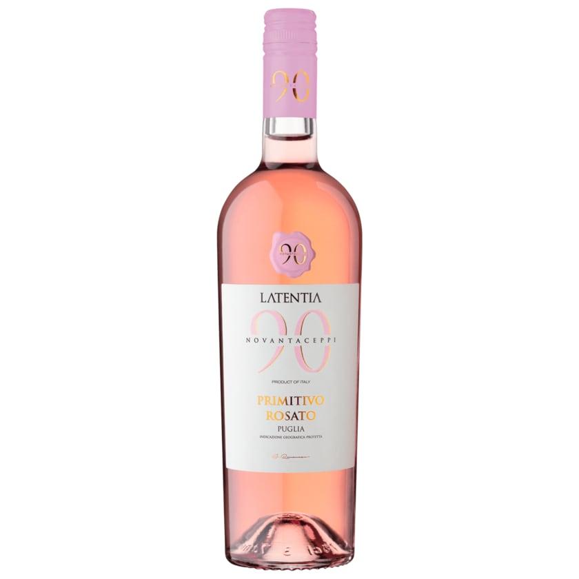 Latentia Rosé Primitivo Rosata halbtrocken 0,75l