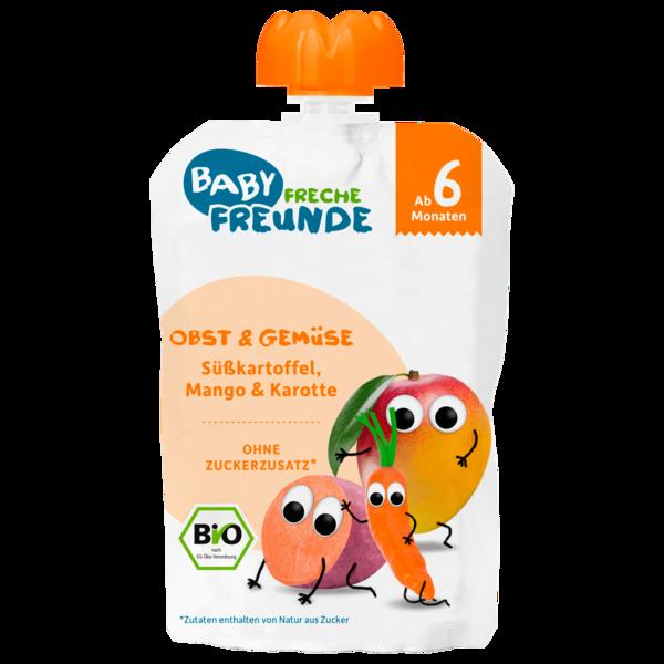 Freche Freunde Bio Süßkartoffel, Mango & Karotte 100g