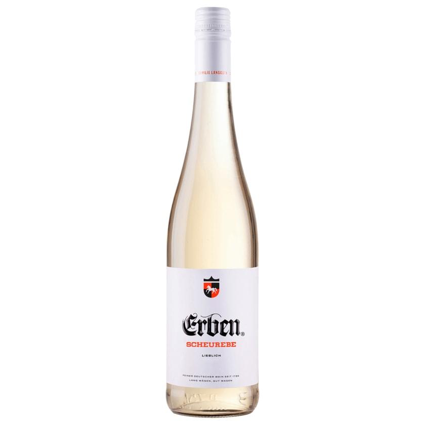 Erben Weißwein Scheurebe QbA lieblich 0,75l