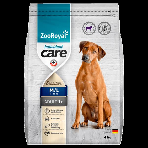 ZooRoyal Care ad. Sensitiv Lamm 4kg