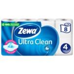 Zewa Toilettenpapier Ultra Clean 4-lagig 8x135 Blatt