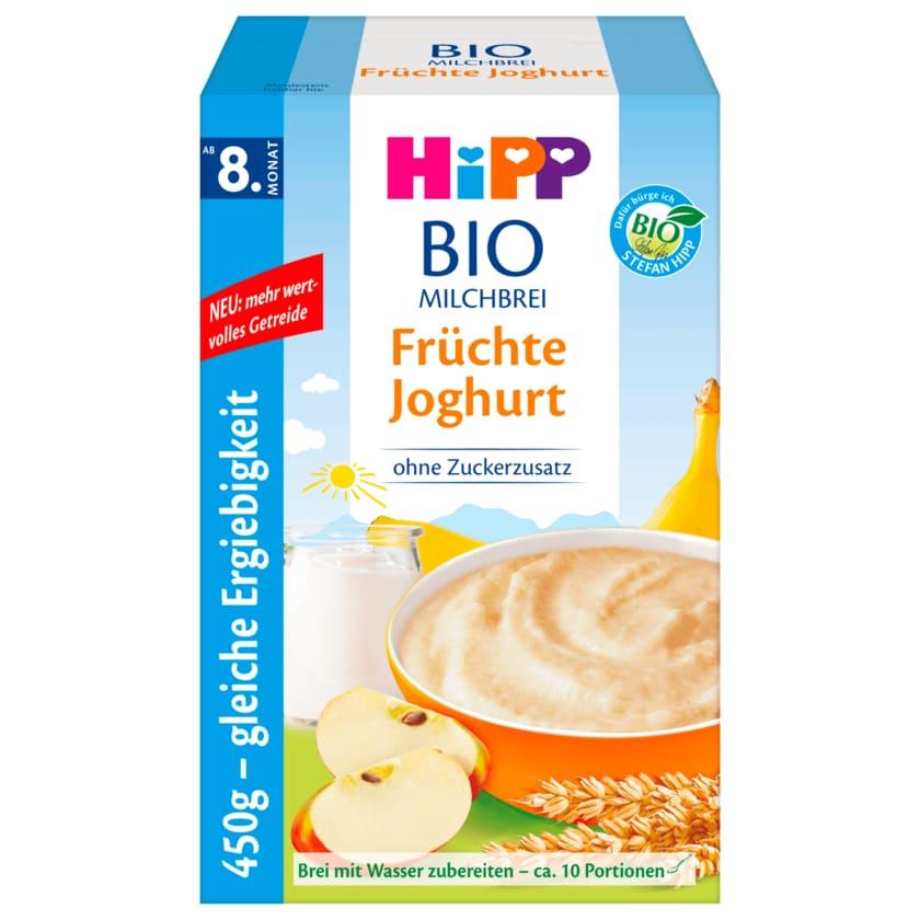 Hipp Bio Milchbrei Früchte Joghurt ab 8. Monat 450g