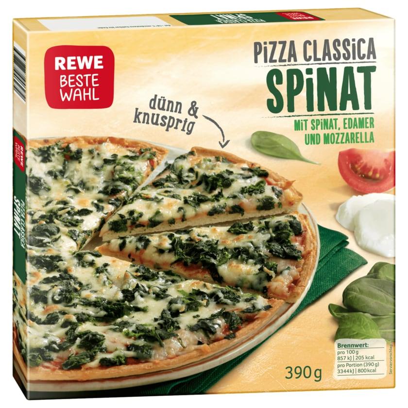 REWE Beste Wahl Pizza Classica Spinat 390 g