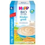 Hipp Bio Milchbrei Kindergrieß ohne Zuckerzusatz 450g